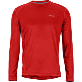 Marmot Windridge Longsleeve Heren, victory red